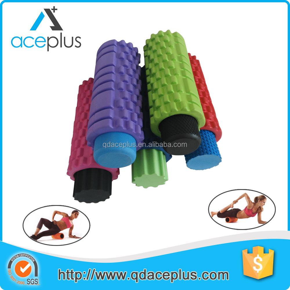 2 In 1 Foam Roller Eva Grid Foam Roller Gymnastiek Product