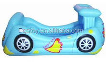 car shape inflatable playland game toy pool