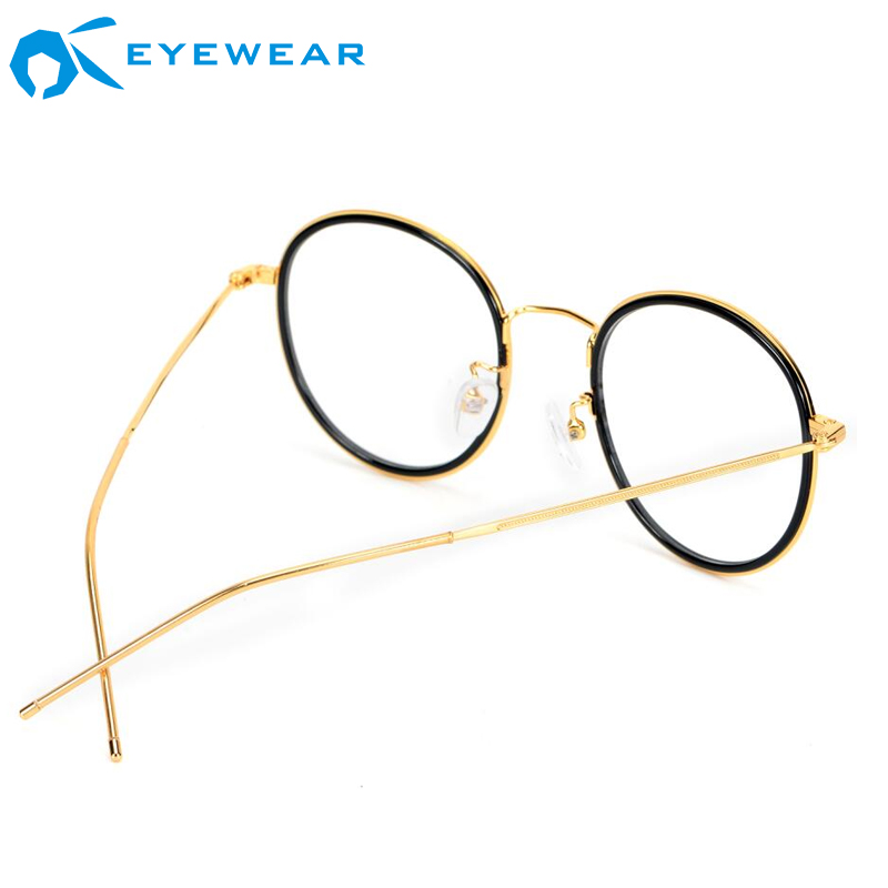 Acetate/Metal Optical Frames Fashion Design Italian Brand Eyeglasses