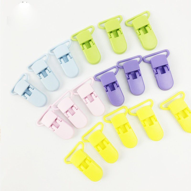 Multi Color Baby Accessories Plastic Soother Clip Dummy Clip for Newborn