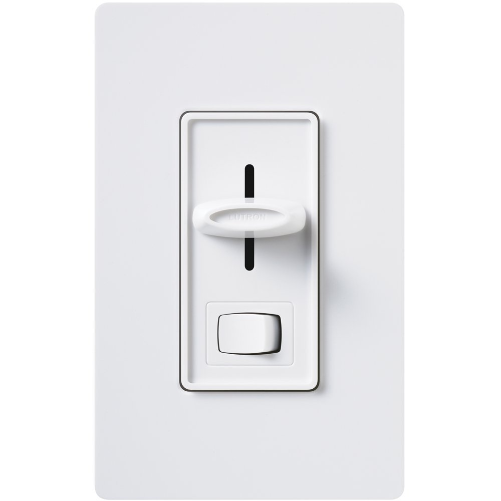 Buy Lutron Qoto 600 Watt Single Pole Dimmer Amp Switch Ivory In Toggle Slv 600p Wh Skylark Magnetic Low Voltage