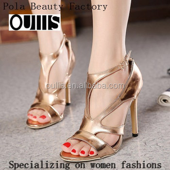 2016 Beautiful Ladies Latest Heel Sandals Pz3841