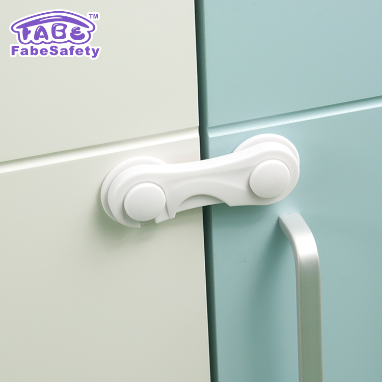 Mother & Kids Child Baby Safety Lock Butterfly Sliding Doors Windows Cabinet Locks Profit Small Cabinet Locks & Straps