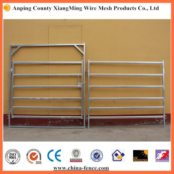 Cattle Yard Panels And Gates With Slam Latches - Buy Cattle Yard Panels And  Gates,Cattle Yard Panels,Cattle Fencing Panels Product on Alibaba com