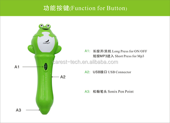 Newest Abs Plastic Digital Read Pen For Kids Learning Arabic ...