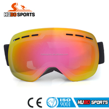 Anti-fog Dual Lens Mirror Snow Snowboard Skiing Protective Winter Goggles Skiing Eye-wear for Women and kid HB-166B