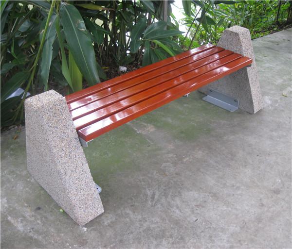 Concrete Stone Patio Bench Seats Ends