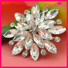 cheap lots large rhinestone brooch for wedding in bulk WBR-1376