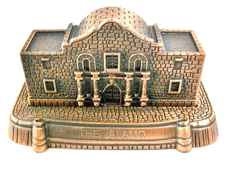 The Alamo Die Cast Metal Collectible Pencil Sharpener