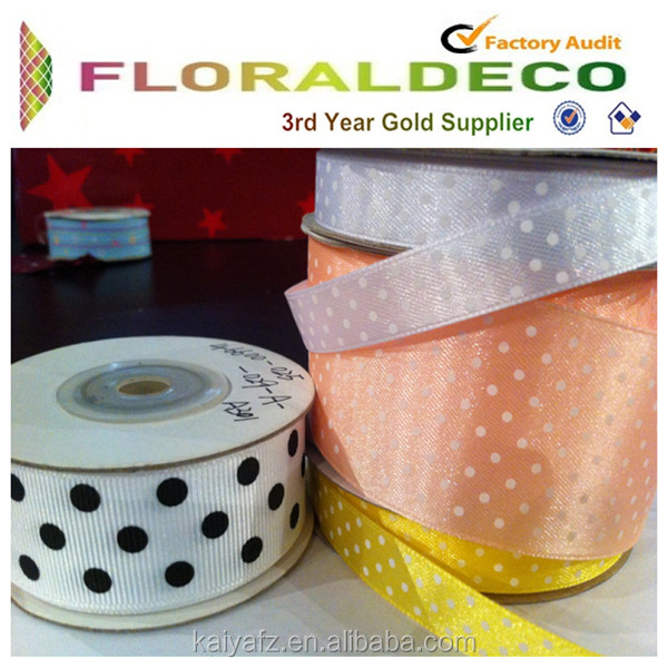 Single/Double Face DECORATIVE FESTIVAL 100% polyester packing grosgrain ribbon, printed ribbon,satin ribbon