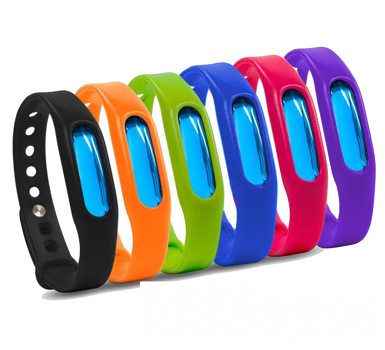 Lot of 2 ~ Bug Bam Insect Repellent Bracelet 2-Pcs Per Pack 4 Bracelets Total
