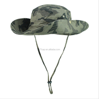 Summer Camouflage Bucket Flap Sun Protection Boonie Hats Wholesale