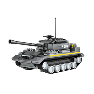 WANGE best selling product heavy tank building brick toy for promotion