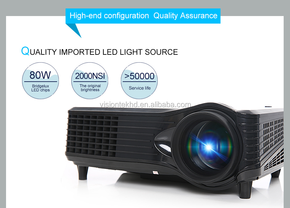 3d full hd 1080p led projector 2600 lumens equals