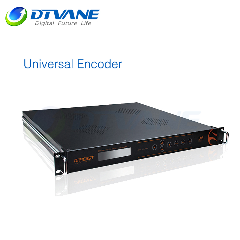(DMB-9300) High Quality SD encoding ASI And IP Output MPEG4 Encoder Modulator For DTV Broadcast System