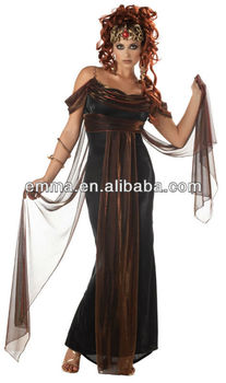 7985baac473d1c sexy vrouwen kostuum kwaliteit mythische medusa fancy dress dames oude  griekse cc335