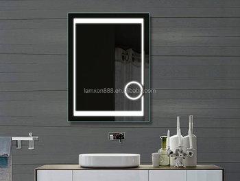 Lamxon Horizontal Led Light Backlit Bathroom Vanity Mirror