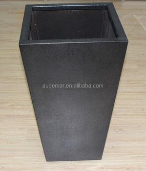 Customized Indoor&outdoor 2mm Thick Tapered Large Indoor Planters ...
