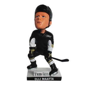Resin sports make your own hockey bobblehead
