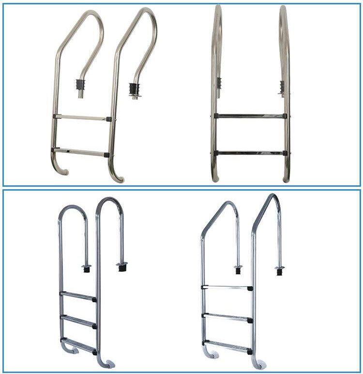 Swimming pool accessories quick step ladder and 2 step ladder