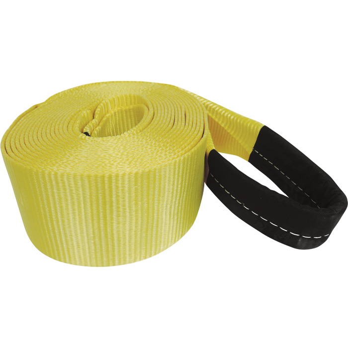 Heavy-Duty Recovery Tow Strap with sheath