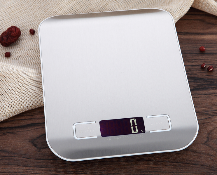 5000g digital scale CX-2012 5kg/1g stainless steel kitchen scale