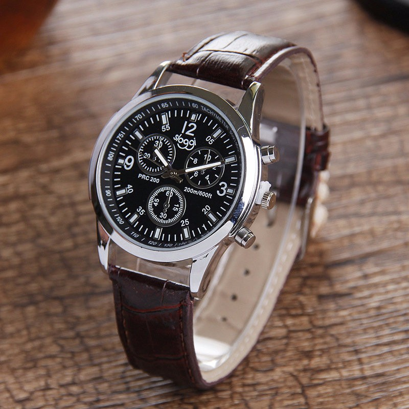 Sloggi three-eyed six stitches fashion quartz watch for men and women wrist watch