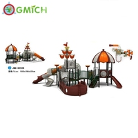 Gmich Brand children pirate ship playground equipment for sale
