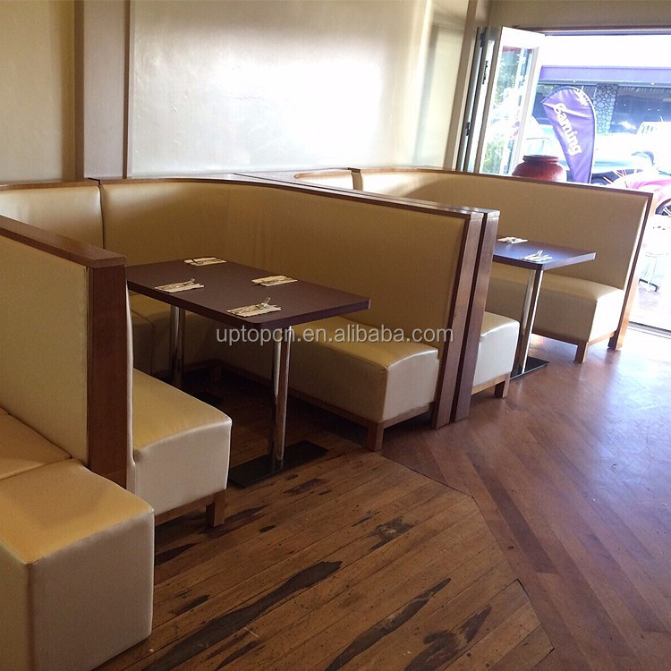 Sp Cs335 Modern Restaurant U Shape Curved Booth Seating