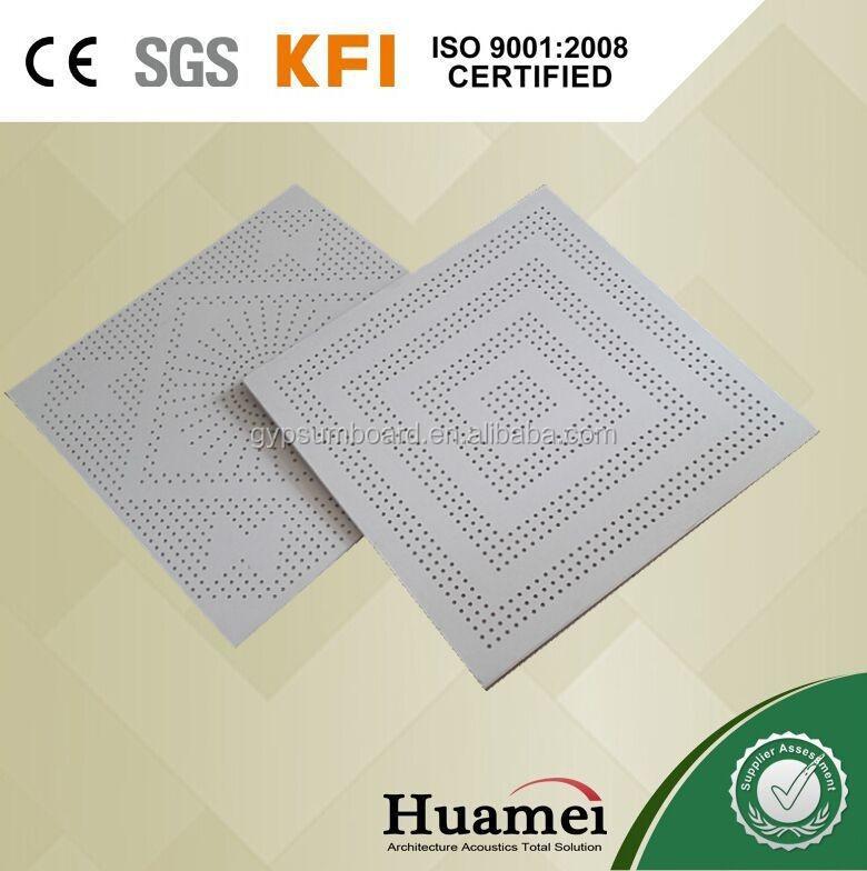 Decorative Perforated Fiberglass Ceiling Board In Uae Size 600600mm