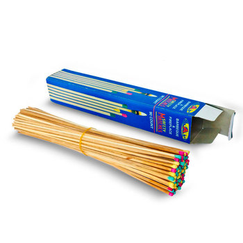 Long Fireplace Matches, Wooden Matches Box In Bulk Hotel Matches, Colored  Head Safty Matches