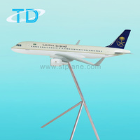 Saudi Arabian A320 120cm 1/31 large plane model aircraft