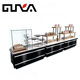 wood bread high quality bakery display counter showcase racks shelves cake shop furniture