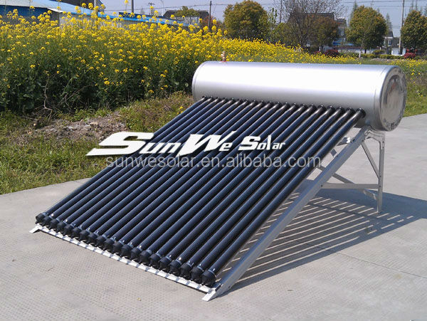 Made In China Compact Pressurized Heat Pipe Solar Water Heater ...
