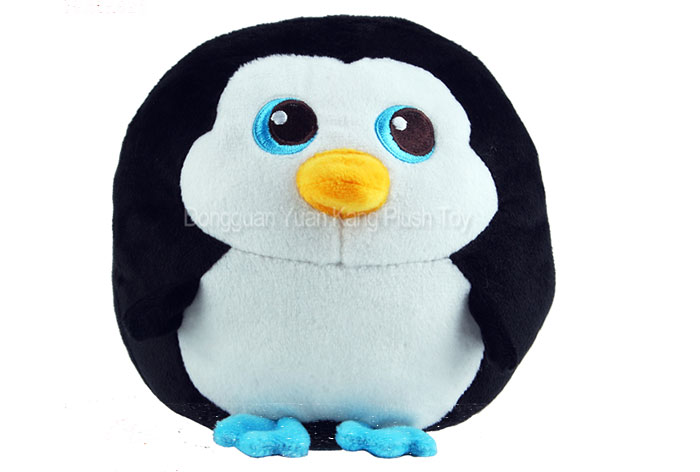 Carino mini regalo di promozione molle del giocattolo Farcito Pinguino Tiger Girrafe Volpe Elefante Animale di Peluche Giocattolo Per I Bambini