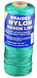 T.W . Evans Cordage 12-506 Number-1 Braided Nylon Mason Line, 1000-Feet, Green