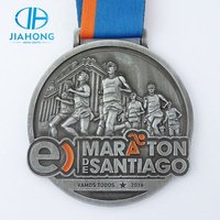 Jiahong Specialized Souvenir Use and Antique Imitation Style Marathon Running Sports Medal