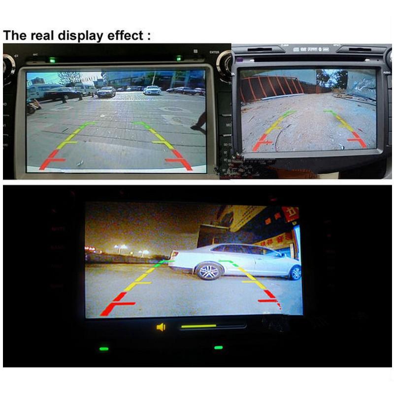 Vehicle 4LED Car Rear View Reversing Backup Camera Night Vision Waterproof