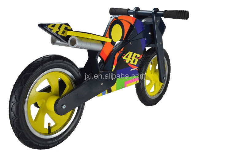 NEW style kid no pedal ply wood motor balance bike for sale