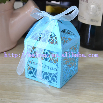 Wedding Gift Boxlaser Cut Candy Chocolate Boxes For Weddinglaser
