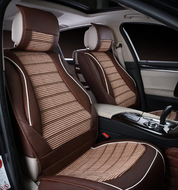 Seat Covers For Trucks >> 2017 Moda De Luxo De Couro Marrom Titular Do Assento De Carro Cobre Para Carros & Caminhões ...