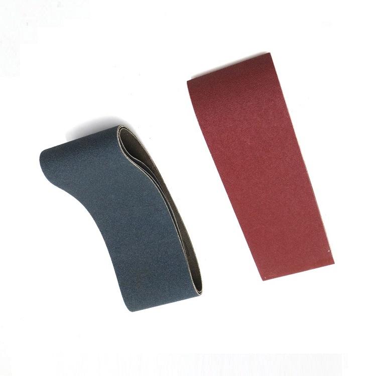 """Deerfos Sanding Belt Set of 6 Belts 6/"""" x 48/"""" Cloth Aluminum Oxide 40 60 80 Grit"""