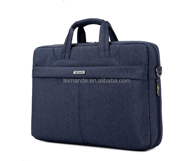 Luxury Leather Laptop Briefcase Bag Business Shoulder Case Messenger bag