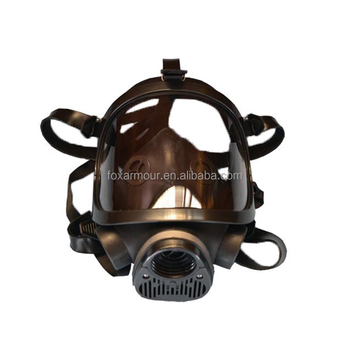 Full Face Gas Mask with Two Respirators