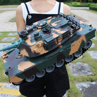 launch M1A2 Simulation Army Battle Model Military Tank RC Tank