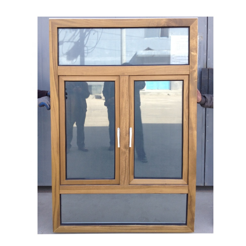 Doorwin 2020 Latest Design New Modern Energy Efficient Solid Wooden Push Out French Casement Windows With Safety Glass For Sale