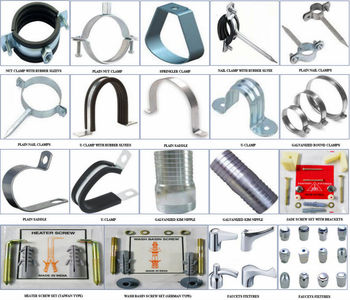 Pipe Support Cl&s Pipe Hangers Galvanized Kim Nipple Faucets Fixtures etc  sc 1 st  Alibaba : pipe bracket clamp - www.happyfamilyinstitute.com