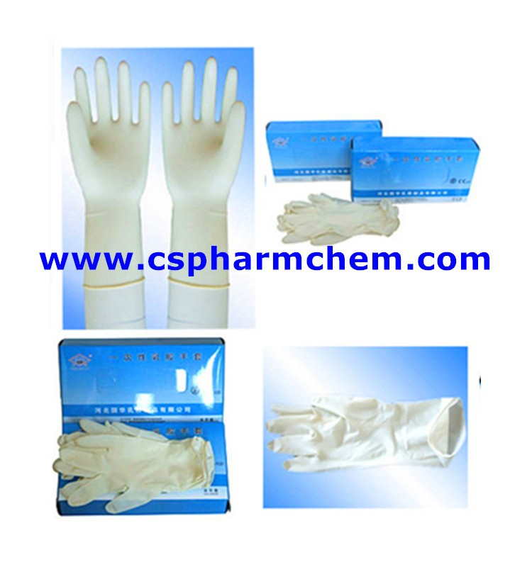 Good quality non-toxic disposable glove vinyl examination gloves for medical use