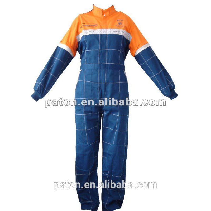 Professional Work Uniform Of Reflective Strips Coverall For Industrial