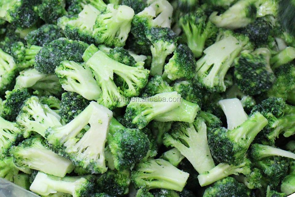 how to prepare frozen broccoli florets